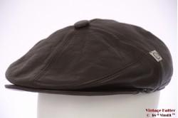 Panelenpet Wetbury bruin leer met oorwarmer 60 (XL)