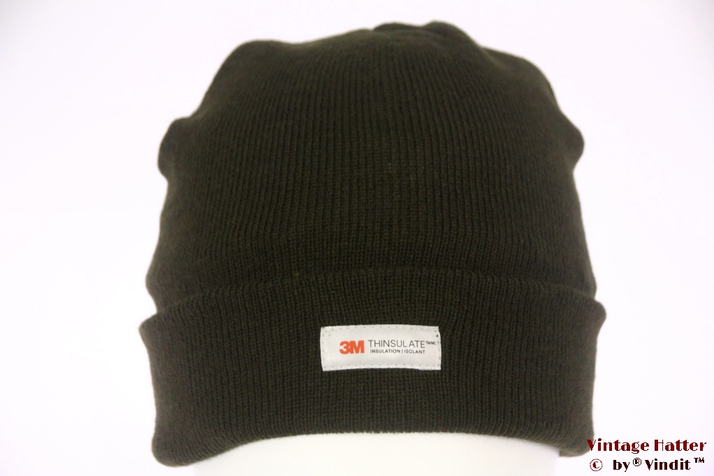 Beanie hat green 3M Thinsulate 54-60 [New]