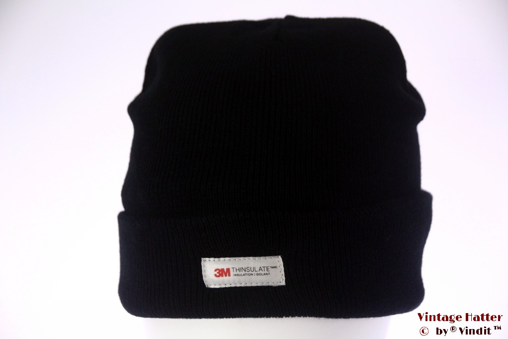 Beanie hat black 3M Thinsulate 54-60 [New]