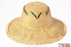 Safari hoed natuurlijk geel stro 53/54 (XS)
