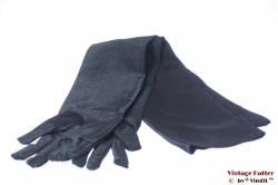 Avondkleding gala zwarte lange dames-handschoenen Small / Medium [nieuw]