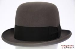 Bowler hat Mayser grey felt 57