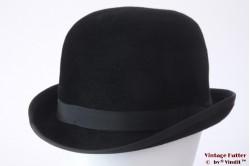Bowler hat Mayser Favorit black fur felt 57