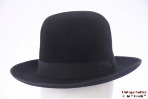 Bowler-type gents hat Cambini black felt 56,5