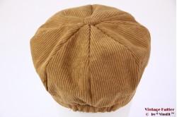 Balloon-type cap M-Union beige corduroy 54-59 [new]