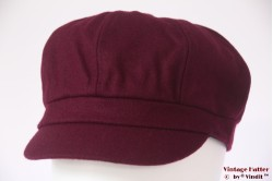 Balloon-type cap Hawkins burgundy purple 53-61 [new]