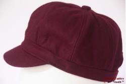 Balloon-type cap Hawkins burgundy purple 53-61 [new]