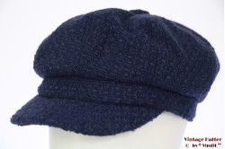 Balloon cap Hawkins blue woven 54-57 [new]
