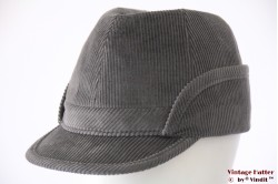 German cap Peter Küpper grey corduroy 57,5