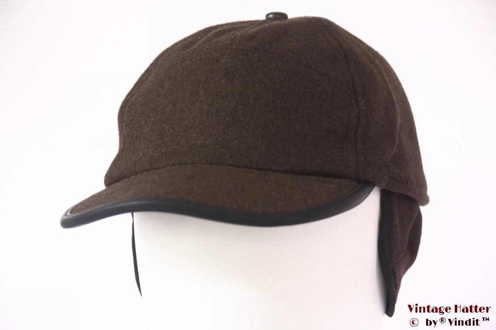 Baseball cap Hawkins brown with earwarmer 58-59 [new]