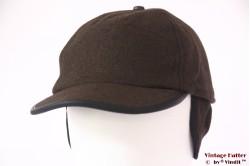 Baseball cap Hawkins brown with earwarmer 58-59 [new]