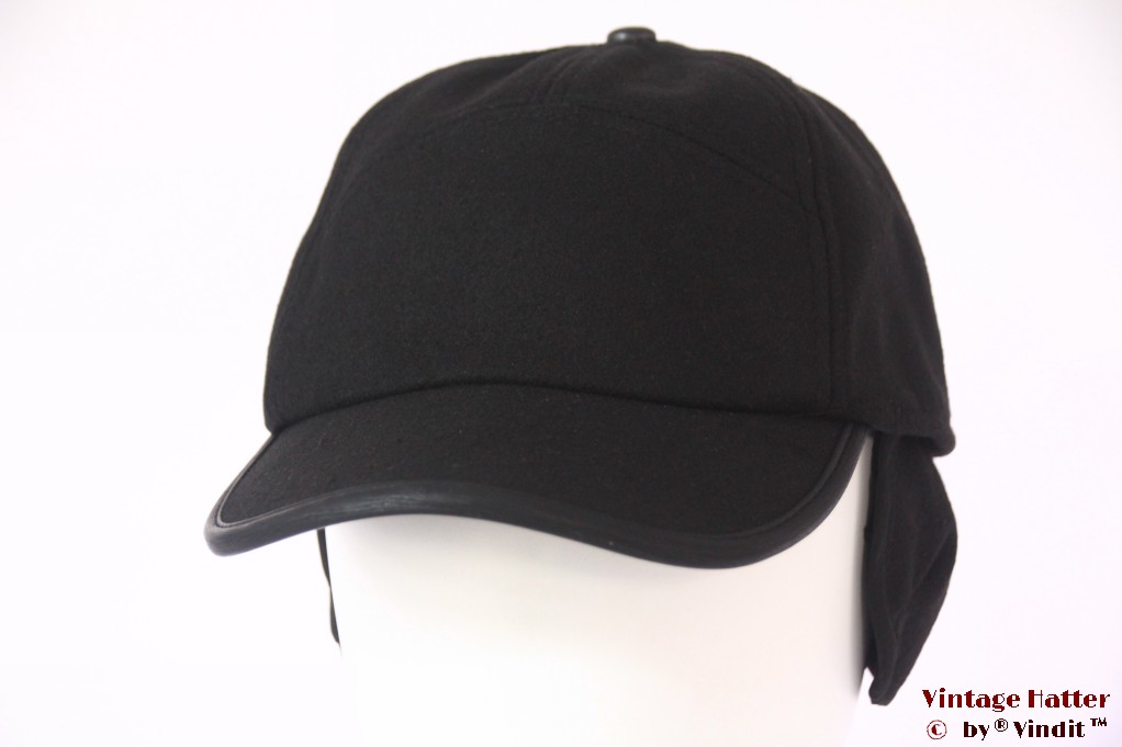 Baseball cap Hawkins black with earwarmer 58-59 [new]