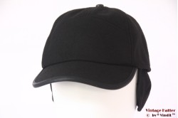 Baseball cap Hawkins black with earwarmer 58-59 [new]
