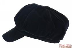 Balloon-type cap Seven black thin velvet 57 [new]