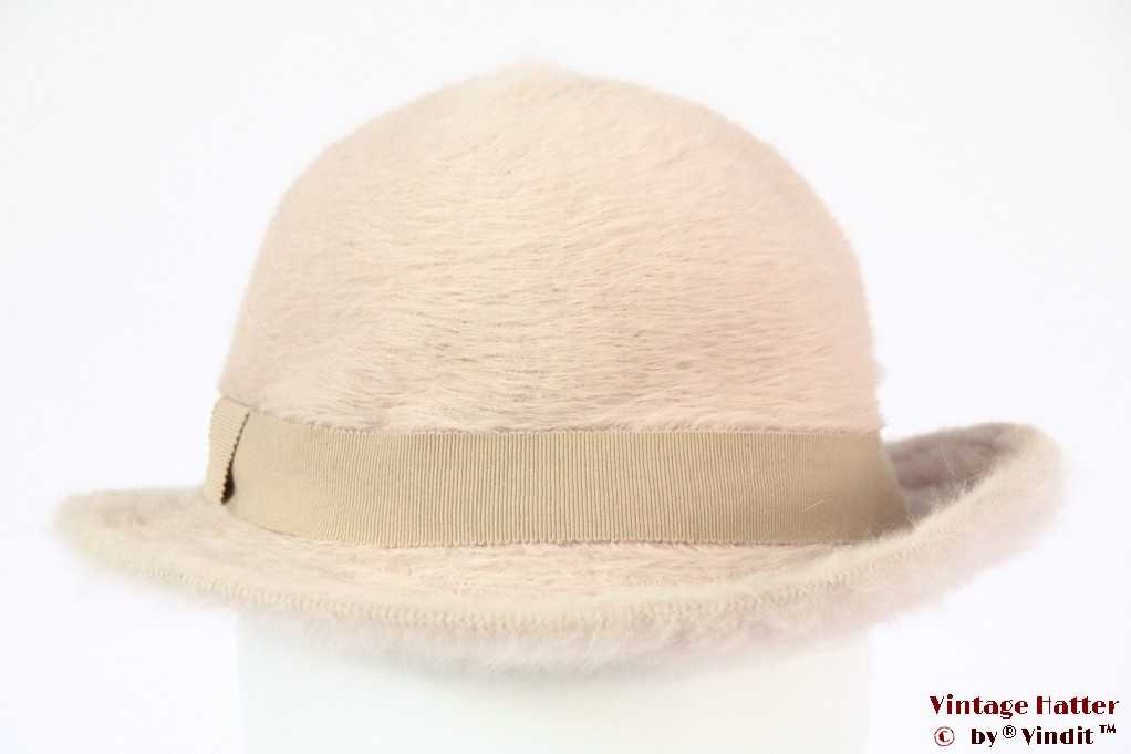 Ladies hat Kangol soft pink angora 55,5 (S)