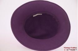 Ladies hat Tonak purple felt 54 (XS)