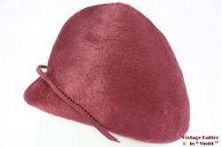 Ladies hat Buchmann pink fur felt 56,5