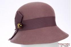 Dames Cloche dophoed violet 56