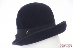 High ladies hat dark blue 55 (S)