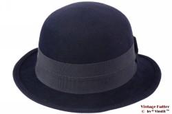 Ladies hat LadyLike dark blue felt 55 (S)