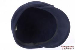 Ladies hat VEB balloon-type dark blue velour 56