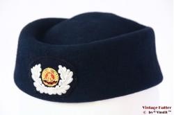 Dames Uniform hoed DDR donker blauw 51-53 (XXS!)