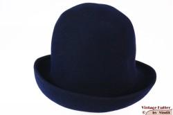 Ladies hat dark blue felt 55 (S)