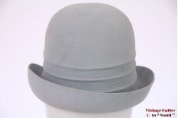 Ladies hat Mayser light blue brushed felt 55 (S)