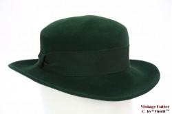 Dameshoed groen fluweel 54 (XS)
