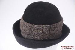 Ladies hat Canda dark grey fur felt 57