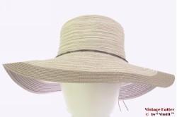 Floppy hat Hawkins cream grey 53-57 [new]