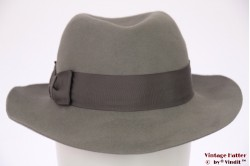 Ladies fedora Tonak LadyLike grey felt 56