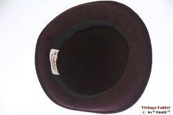 Ladies hat Monika Zechbauer for Mayser brown velour 58