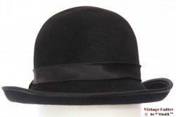 Ladies hat black felt 54 (XS)