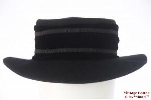 Ladies hat LadyLike Florence black felt 55 (S)