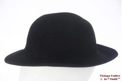 Ladies hat LadyLike black felt 56