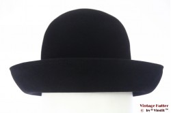 Ladies hat Favorit black velvet 55 (S)