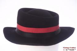 Ladies hat Begej black felt 56