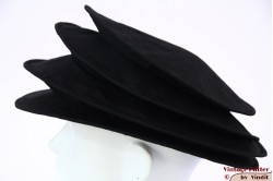 Ladies Pagode-hat The Madhatter black 54-57 [New]