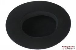 Ladies hat black felt 53 (XXS)