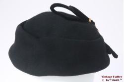 Dames Cocktailhoed zwart vilt +/- 56