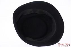 Ladies Cocktail hat black felt 56