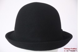 Ladies hat Hawkins black felt 54 - 58 [new]