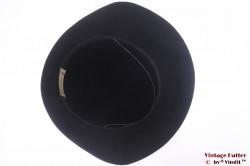 Ladies hat Touriste black thin felt 57