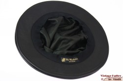 Ladies Pagode-hat The Madhatter black leather 54-57 [New]