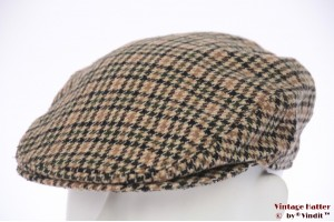 Flatcap EWM beige green tweed 55 (S)