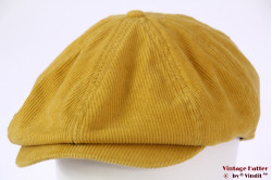 Paperboy snapcap Brixton Brood yellow corduroy 59 [New Sample]