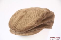 Flatcap TCM beige corduroy 60 (XL)