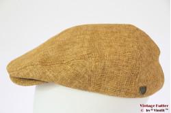 Summer flatcap Brixton Hooligan Straw Snap Cap beige 58 [New Sample]