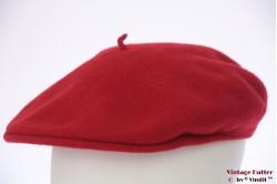 Platte pet Kangol rood 57